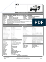 2010 Cushman Commander 280 Gas Tech Spec,1