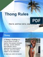 ThongRul