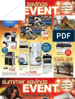 Cullens Summer Savings 2013