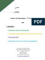Plaquette M1 (2012-2013)