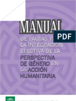 Manual Pautas Integracion Genero AH