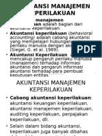 Akuntansi Manajemen Keperilakuan Ra Supriyono