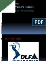 DLF- Indian Premiere League