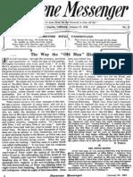 Nazarene Messenger - January 27, 1910
