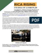 Ed Markey's Idea of a Jobs Plan