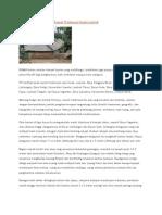 Arsitektur Dan Tata Ruang Rumah Tradisional Sasak Lombok