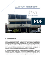 The Fall of Ravi Restaurant