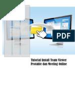 Tutorial Install Team Viewer Protable Dan Meeting Online