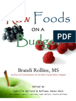 Raw Foods on a Budget Chapters 2-3