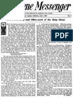 Nazarene Messenger - July 8, 1909