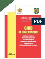 Ghid de Bune Practici Privind Prevenirea Delincventei Juvenile