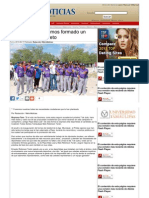 16-06-2013 Con Pepe Elías hemos formado un equipo ganador