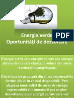 Prezentare- Energia Verde