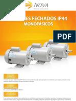 Motores Monofásicos Fechados IP44