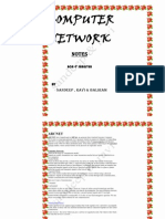 Computer Networks Full Notes