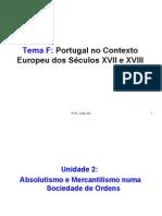 Portugal no Contexto Europeu dos Séculos XVII e XVIII