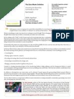 The Zero Waste Solution Press Release