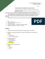 Instrumento de Diagnostico Para Pastores, Tesis Juan David