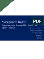 CSR Strategy Report