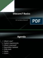 Sitecore7 Basics