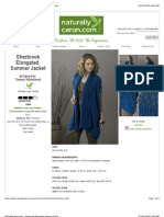 Tammy Hildebrand - Sherbrook Elongated Summer Jacket (2)