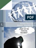 Diapositivas Surgimiento de Las Ciencias Sociaes