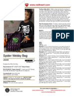 CROCHET - Ellen Gormley - Spider Webby Bag