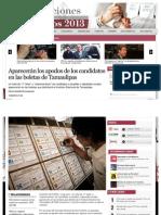 12-06-2013 Aparecerán los apodos de los candidatos en las boletas de Tamaulipas