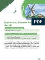 6. Penerapan Konsep Energi Gerak