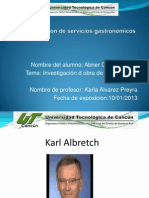 Ppt Karl Albretch
