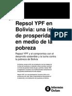 Repsol en Bolivia