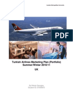 Marketing Plan of Turkish Airlines