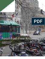 Fossil-Fuel-Free Kristianstad