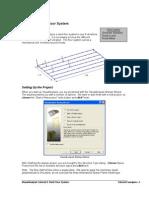 Tutorial 9 Steel Floor System