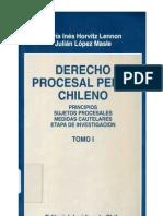 Manual de Derecho Procesal Penal Tomo I