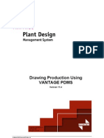 Drawing Production Using PDMS Draft