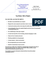 061713 Taxi Bill of Rights Draft