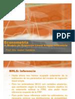 4 Modelo de Regresion Lineal Simple Inferencia Estadistica