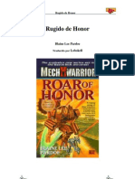 Battletech Spanish Rugido de Honor