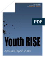 Youth RISE Annual Report  2008