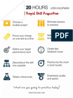 First20hours Skill Acquisition Checklist