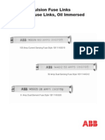ABB High Voltage Expulsion Fuse Links Brochure