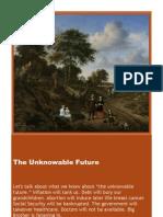 The Unknowable Future