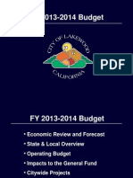 Lakewood - Budget Study Session 06-11-13