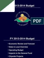 Lakewood - Budget Study Session 06-11-13