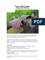 Fierce Little Dragon Amigurumi Pattern