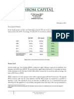 Eric Khrom of Khrom Capital 2012 Q4 Letter