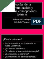 LAS TEORIAS DE LA COMUNICACIÓN 17-6-2013