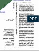 Previsão de Problemas Financeiros em Empresas - ALTMAN, Edward et. at. Previsão de problemas financeiros em Empresas - Revista de Adm de Empresas, jan.marrc.1979