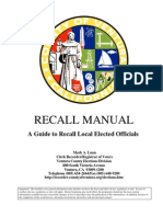 20110623_Ventura County Guide for Recalling Local Officeholders